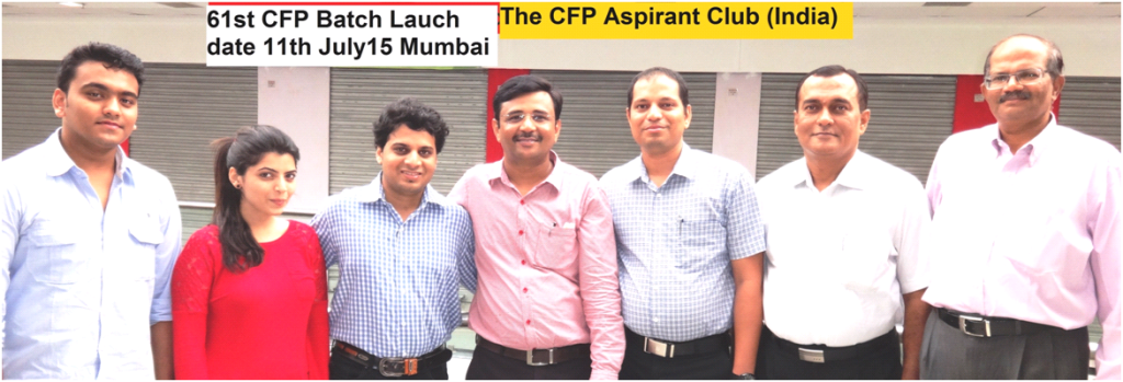 61st Batch – 6 Weekend Comprehensive Fast Track CFP Batch dated 11th July 2015