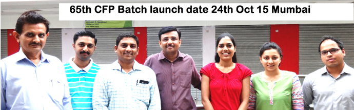 65th Batch – 8 Weekend Comprehensive Fast Track CFP Batch dated 24th Oct 2015